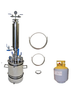 2 5 Lb Bidirectional Closed Loop Extractor With Solvent Tank extractor Solutions