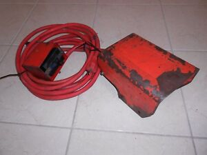 Ridgid 300 Pipe Threader Foot Pedal Power Switch Power Cords