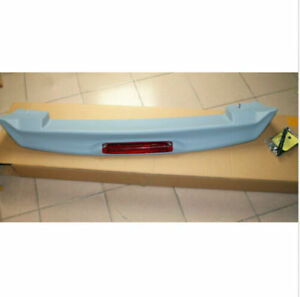 Unpainted Tail Spoiler Wing With Led Modified For Toyota For Prado Fj120 03 09