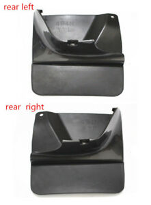 Outside Rear Mud Flaps Splash Protect For Toyota Land Cruiser Prado Fj120 03 09