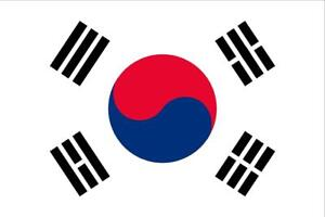 South Korean Country Flag Sticker Decal Vinyl Country Flag Of South Korea
