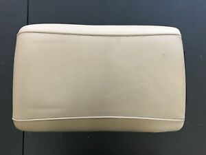 2003 2004 2005 2006 Ford Expedition Center Console Lid Arm Rest Tan Leather