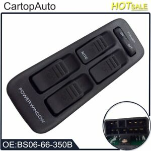 Front Left Hand Power Window Switch Bs0666350b For Mazda Bg Ca7130 323 91 94