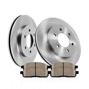 For 2000 2007 Mitsubishi Montero V6 Front 290 Mm Brake Rotors And Ceramic Pads