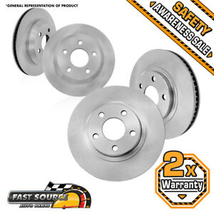 Front And Rear Brake Rotors For Chevy Impala Monte Carlo Ls Lt Ltz Ss