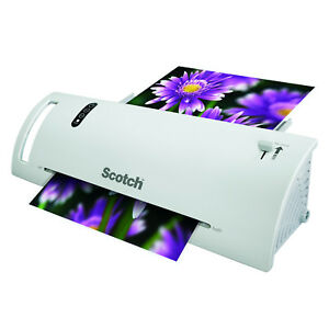 Scotch Thermal Paper Laminator Machine Brand Refillable Easy Use 2 Roller Office