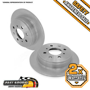 Rear Rotor 2001 2002 2003 2004 2005 2006 2007 Ford Focus Lx Se Zts Ztw Zx3 Zx5