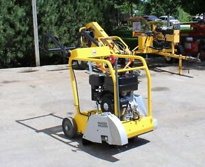 Wacker Neuson 14 Walk Behind Concrete Saw Gas Power Engine Bfs 914