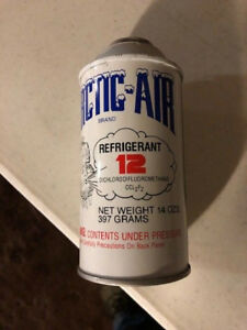 R 12 Refrigerant R12 12oz Cans New Old Stock Nos 32 00 Each Can