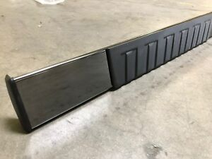 6 Oe Style For 99 18 Chevy Gmc Regular Cab 2dr Black Nerf Bars Running Board