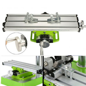 Milling Drilling X Y Guild Rail Bench Table Clamp Carpentry Woodworking Vise Set
