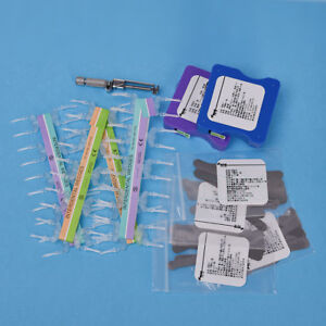 Dental Matrix Bands 0 04mm Thick Interdental Wedges Kit Tofflemire Tool