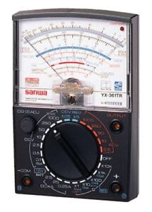 Sanwa Yx 361tr Analog Multi tester Multimeter Wide Measurement Range Japan New
