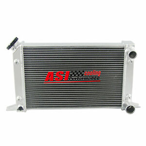 80104n 2 Row 56mm Core 1 tube Aluminum Radiator For Scirocco pro Stock Style