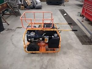 Stanley Hp 1 Portable Hydraulic Power Unit Only 521 Original Hours