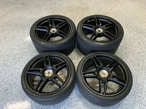 Ferrari 430 Novitec Center Lock Rims Wheels Complete Set