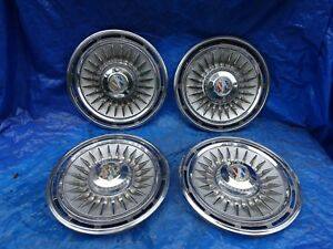 1964 Buick Electra 15 Wheel Covers Hubcaps Set 64
