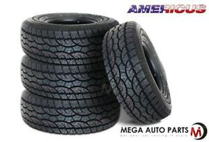 4 X New Americus At 275 60r20 115t All Terrain Performance Tires