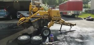Vermeer 630b Overhauled Engine And Tons Of New Parts Plus Extras Stump Grinder