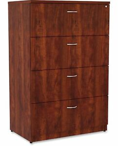 Lorell Essentials 4 drawer Lateral Filing Cabinet