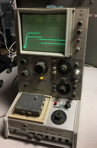 Tektronix Semiconductor Curve Tracer 577 D2 With 177 Fixture Tested Working