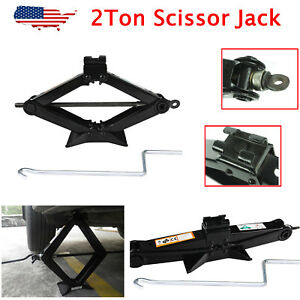 Scissor Lifting Jack 2 Ton For Car Ford Dodge Chevy Truck Repair Tool 3 5 14