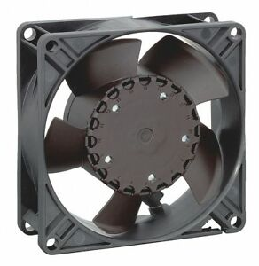 Ebm papst Square Axial Fan 3 5 8 Width 3 5 8 Height 24vdc Voltage 3314nh3