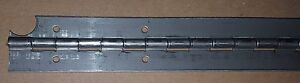 040 Stainless Piano Hinge 20 X 1 1 4 Holes Notch Door boat Continuous Weld On