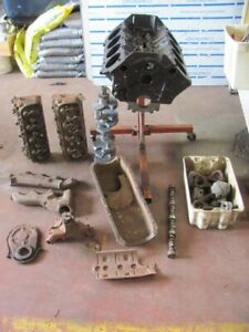 Chevelle Ls6 454 Crr Engine W Extras Crate Warranty Heads Rods Oil Pan Crank