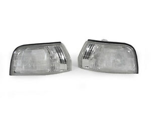 Depo Jdm Clear Front Corner Lights For 1992 1993 Honda Accord Ex Dx Lx