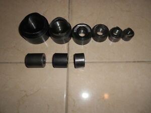 Greenlee Knock Out Punches 2 To 1 2 With Greenlee Spacers