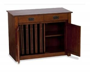 Meco Stakmore Expanding Cabinet Finish Fruitwood Set Of 2