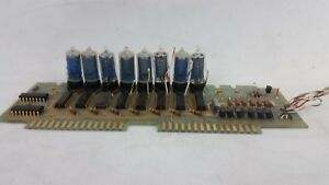 Hp Agilent 5340a 05340 60020 Frequency Counter Display Board 8 Nixie Tubes B 587