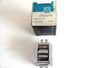 Nos 1966 Cadillac Door Window Block Out Switch Control