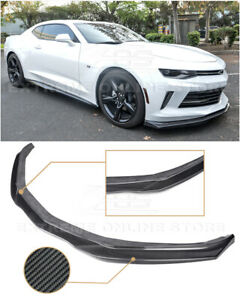 Imperfect Eos T6 Style Carbon Fiber Front Splitter Lip For 16 18 Camaro Rs Lt Ls