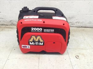 Mi t m 2000 Watt Portable Inverter Generator Small Quiet Emergency Backup Power