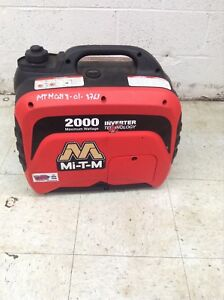 Mi t m 2000 Watt Inverter Generator Emergency Hurricane Stand By Portable Power