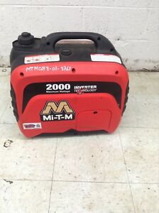 Emergency Generator In Stock | JM Builder Supply and Equipment Resources