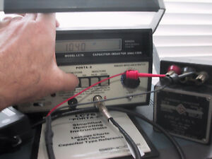 Working Sencore Lc76 Porta z Lc Meter With Esr Leakage And Ringer q Tests
