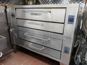 Baker s Pride Y 602 Stone Deck Pizza Oven