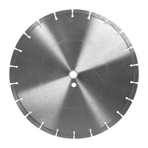 14 In X 120 In Dry Or Wet Cutting Segmented Saw Blade With 1 inch Arbor