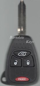 Replacement Remote Key Fob For 2006 2007 Chrysler 300 Dodge Charger Magnum