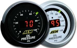 Aem 30 4407 52mm Digital 0 150psi Oil Pressure Meter Gauge