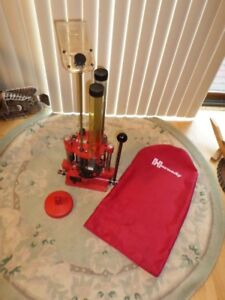 HORNADY 366 PACIFIC PROGRESSIVE  12GA. RELOADER WITH BAG EXCELENT COND