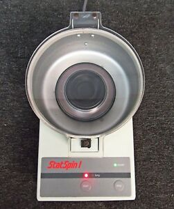 Statspin 1 Model Ss01 Centrifuge With Rt12 Rotor works Well