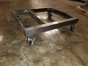 Lincoln Impinger Triple Deck Pizza Conveyor Oven Stand Cart 1116 1132 1162