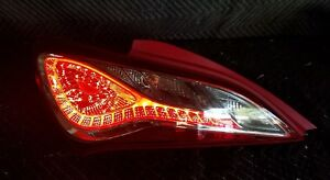 2013 16 Hyundai Genesis Coupe Genuine Led Lh driver Side Tail Light