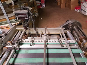 Rollem Champion 990 Friction Feed Perf Slit Score Machine