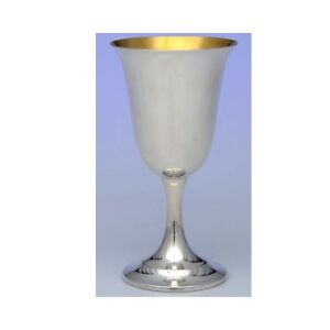 Lord Saybrook Water Goblet Gold Wash Bowl Sterling Silver Excellent