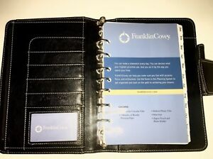 Franklin Covey Black Classic Size Planner